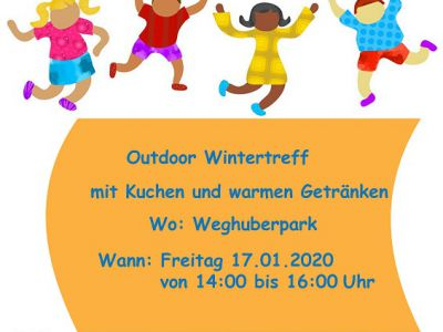 Cult.kids Wintertreff goes outdoor